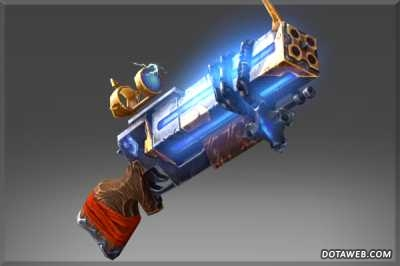 Cannon of the Occultist's Pursuit - Dota 2