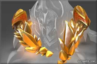 Golden Latticean Shards - Dota 2