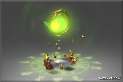 Golden Nether Heart - Dota 2