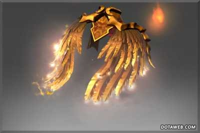 Golden Wyrmwrought Flare - Dota 2