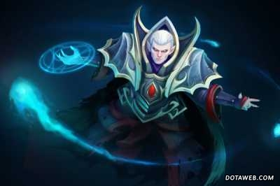 Loading Screen of the Blackguard Magus - Dota 2