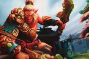 Loading Screen of the Imperious Command - Dota 2
