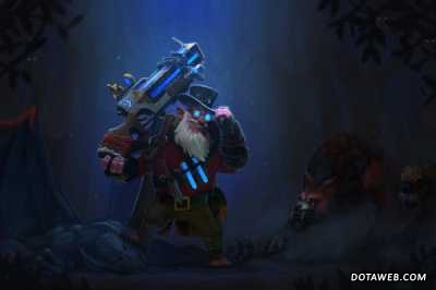 Loading Screen of the Occultist's Pursuit - Dota 2