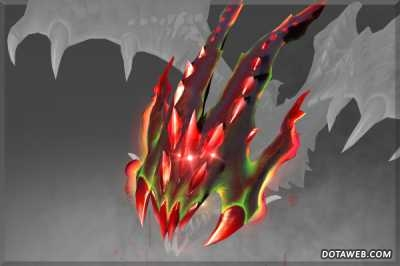 Malefic Drake's Hood of the Crimson Witness - Dota 2