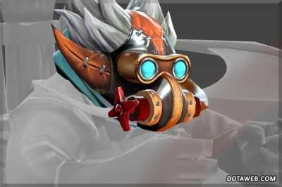 Mask of the Mechalodon Interdictor - Dota 2