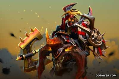 Oni Knight the Dark Conqueror Loading Screen - Dota 2