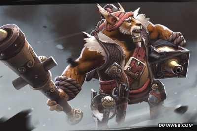 Rumrunner's Carronade Loading Screen - Dota 2