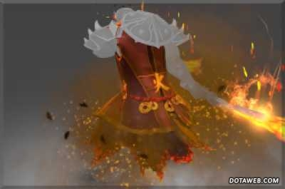 Tunic of the Wandering Flame Infundido - Dota 2