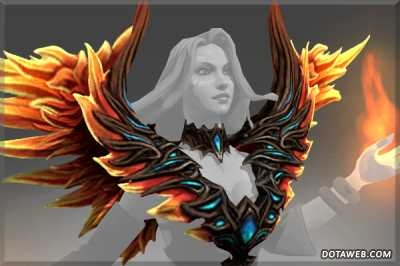 Wings of the Fireflight Scion - Dota 2